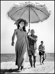 Robert Capa Pablo Picasso Francoise Gilot