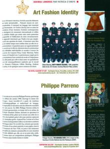L'éventail Magazine Agenda Culturel Londres Décembre 2010