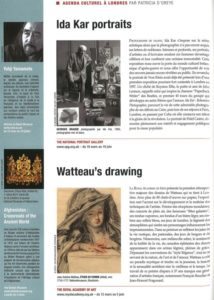 L'éventail Magazine Agenda Culturel Londres Mars 2011