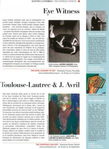 L'éventail Magazine Agenda Culturel Londres Juin 2011