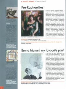 L'éventail Magazine Agenda Culturel Londres Septembre 2012
