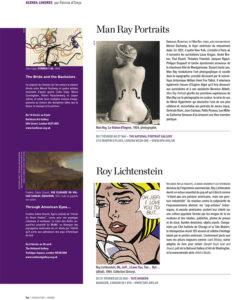 L'éventail Magazine Agenda Culturel Londres Février 2013