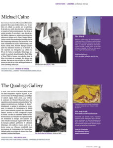 L'éventail Magazine Agenda Culturel Londres Avril 2013