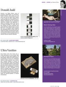 L'éventail Magazine Agenda Culturel Londres Juin 2013