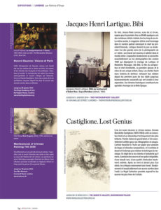 L'éventail Magazine Agenda Culturel Londres Novembre 2013