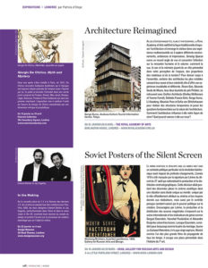 L'éventail Magazine Agenda Culturel Londres Janvier 2014