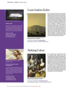 L'éventail Magazine Agenda Culturel Londres Aout 2014