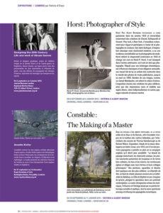 L'éventail Magazine Agenda Culturel Londres Septembre 2014