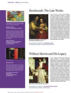 L'éventail Magazine Agenda Culturel Londres Octobre 2014