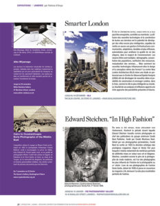L'éventail Magazine Agenda Culturel Londres Novembre 2014