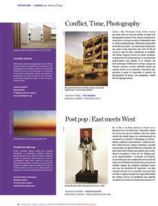 L'éventail Magazine Agenda Culturel Londres Décembre 2014