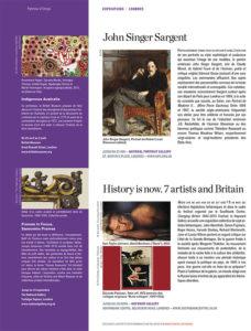 L'éventail Magazine Agenda Culturel Londres Avril 2015