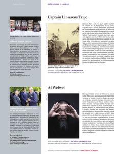 L'éventail Magazine Agenda Culturel Londres Septembre 2015