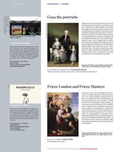 L'éventail Magazine Agenda Culturel Londres Octobre 2015