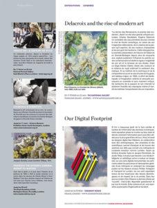L'éventail Magazine Agenda Culturel Londres Février 2016