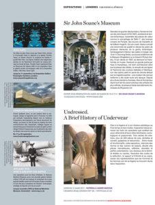 L'éventail Magazine Agenda Culturel Londres Septembre 2016