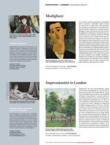 L'éventail Magazine Agenda Culturel Londres Novembre 2017
