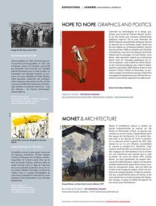 L'éventail Magazine Agenda Culturel Londres Avril 2018