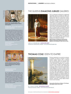 L'éventail Magazine Agenda Culturel Londres Juillet Aout 2018