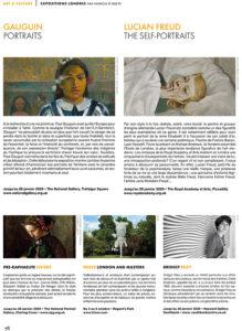 L'éventail Magazine Agenda Culturel Londres Octobre 2019