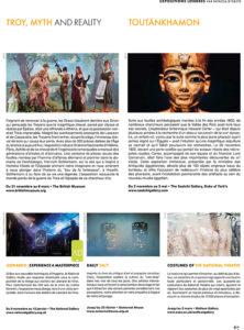 L'éventail Magazine Agenda Culturel Londres Novembre 2019